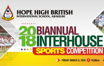 2018 Biannual Interhouse Sports Competition Pictures